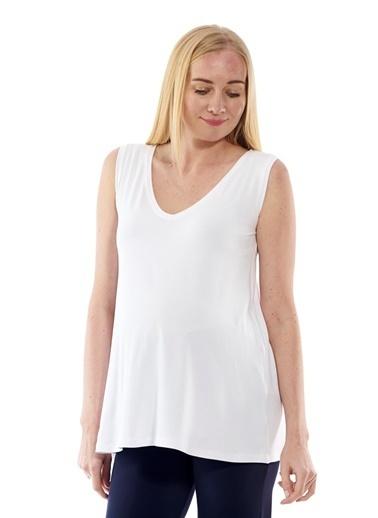 Motherway Maternity Tişört Beyaz